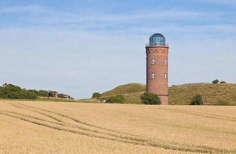 Marine navigation tower at Cape Arkona on the island of Rügen, Germany