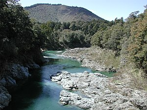 Pelorus River - Pelorus River from Pelorus Bridge