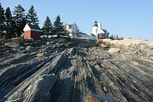 Bristol, Maine - Pemaquid Point Lighthouse