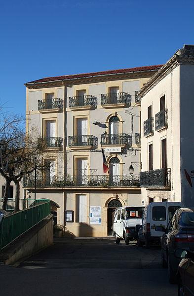 Péret (Hérault) - mairie.