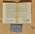 Permit and badge Prisoner of war Stalag XVIII-A.jpg