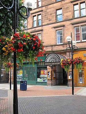 Perth Theatre - Entrance to Perth Theatre