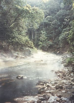 Amazonas Region - Hot springs in the Rupa Rupa Region