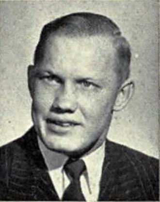 1950 Michigan Wolverines football team - Peter N. Palmer, backup QB 1948-1950