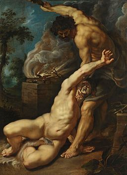 Peter Paul Rubens - Cain slaying Abel (Courtauld Institute)