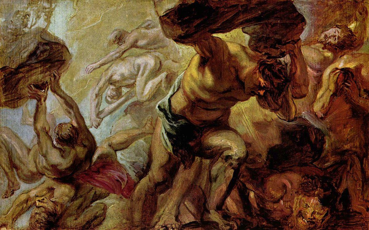 Противостояние людей и богов в древнегреческих мифах