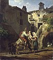 Peter von Hess - Bauernfamilie in Tivoli - WAF 355 - Bavarian State Painting Collections.jpg