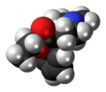 Pethidine 3D spacefill.png