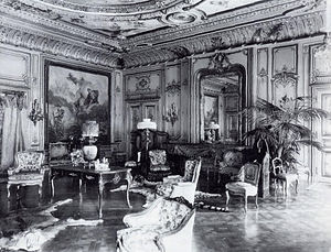 William K. Vanderbilt House - The salon, designed and built by Jules Allard.