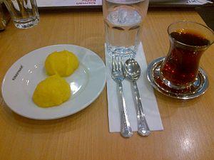 Hoşmerim - Image: Peynir helva
