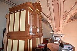 Pfarrkirche hl Ladislaus Mischendorf Interior 10.jpg