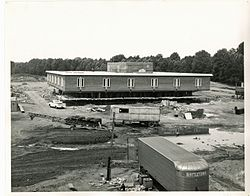 Largo campus construction, 1968
