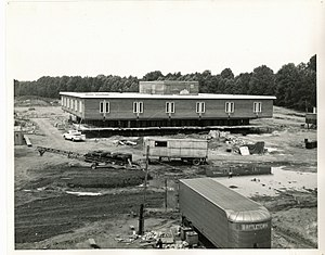Prince George's Community College - Largo campus construction, 1968