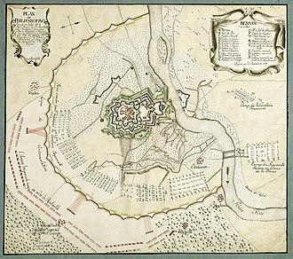 Siege of Philippsburg (1734) - Image: Philippsburg Siege 1734