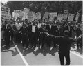 Photograph of Leaders at the Head of the Civil Rights March on Washington, D.C. - NARA - 542002.tif