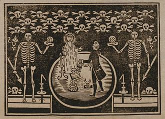 Paul Philidor - Illustration of a performance by Phylidor, from a 1791 handbill.