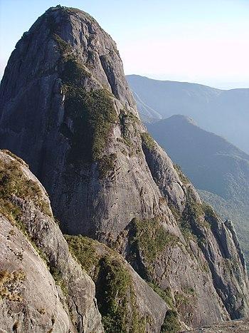 Pico Maior de Friburgo - Ponto culminante da Serra do Mar - 2316m.