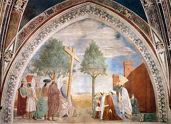 Piero della Francesca - 9. Exaltation of the C...