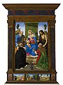 Piero di Cosimo - Madonna and Child Enthroned with Sts. Peter, John... - 1-1940 - Saint Louis Art Museum.jpg
