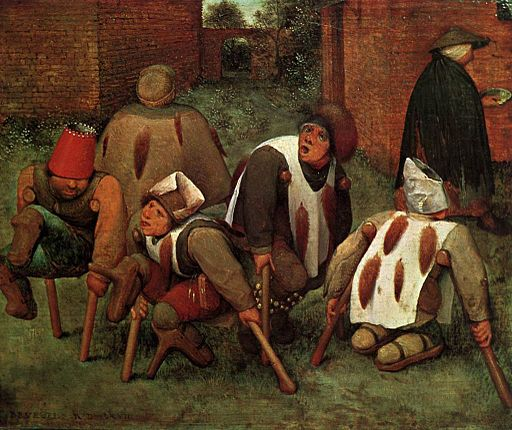 Pieter Bruegel the Elder - The Cripples - WGA3518