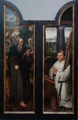 Saint Antony, Abbot Antonius Wydoot and the Lactation of of Saint Bernard