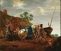 Pieter Cornelisz Verbeeck -De weerbarstige schimmel FHM01 OS-I-324.jpg