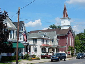 Port Carbon, Pennsylvania - Pike Street in Port Carbon