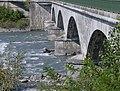 Piles du Pont Royal sur l'Isère en Savoie (été 2020).JPG