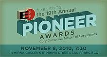Pioneer 2010 Awards