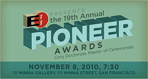 EFF Pioneer Award - The EFF Pioneer Award