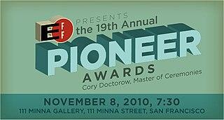 EFF Pioneer Award science and engineering award