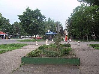 Crvenka - Town center.