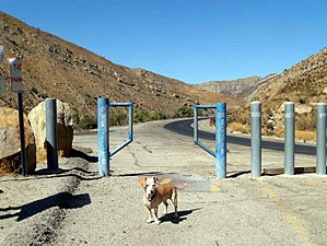 Piru Creek - Trailhead at end of Piru Canyon Road, entrance to lower Piru Creek trails.
