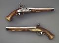 Pistoler, ca 1775 - Livrustkammaren - 4857.tif