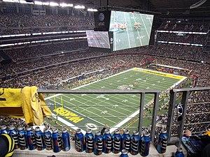 Super Bowl Anpfiff