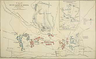 Second Battle of Newbury - Plan of the battle