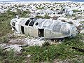 Plane wreckage on Howland Island.jpg