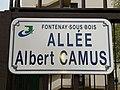 Plaque allée Albert Camus Fontenay Bois 2.jpg