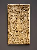 Plaque with the Holy Women at the Sepulchre MET MED613.jpg