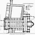 """Plattegrond plaat X reproductie uit """"De Monumenten van geschiedenis en kunst in de provincie Limburg. - Maastricht - 20146286 - RCE.jpg"""