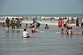 Playful People with Sea Waves - New Digha Beach - East Midnapore 2015-05-01 8694.JPG
