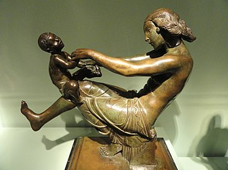 Play (activity) - Playfulness by Paul Manship
