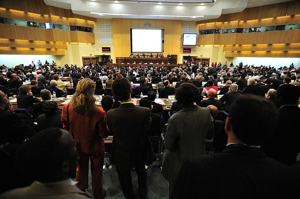 Plenary Hall, 12th AU Summit, 090202-N-0506A-291