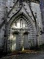 Plonévez-du-Faou (29) Chapelle Saint-Herbot Façade ouest 01.JPG