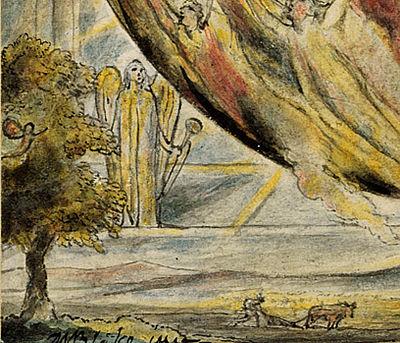 Ploughman - L'Allegro et Il'Penseroso object 3 The Sun at His Eastern Gate 1816-20 Morgan Library (detail).jpg