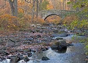 Pocantico River - The Pocantico as it flows through Rockefeller State Park