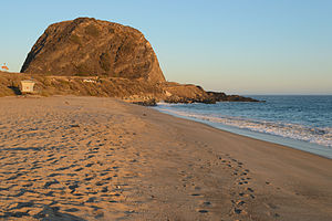 Point Mugu, California - Mugu Rock, seen from the northwest