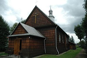Medyka - Wooden church