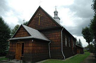 Medyka Village in Subcarpathian Voivodeship, Poland