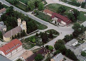 Polgárdi - Aerial view